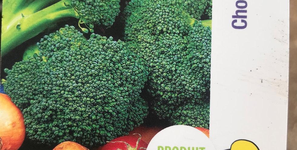 Chou brocolis barquette de 6