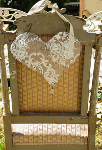 Wire & Lace Heart