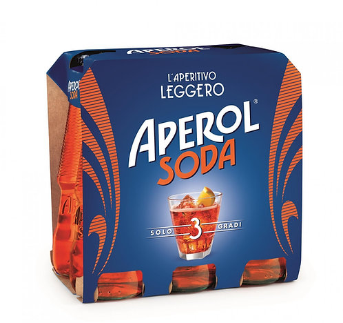 Aperol Soda 6 x 125ml