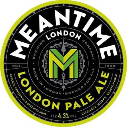 Meantime London Pale Ale 50L Keg