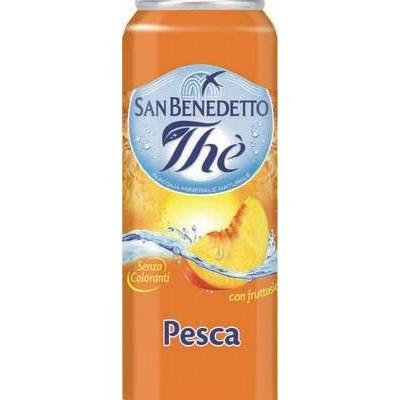 San Benedetto Peach Tea 330ml