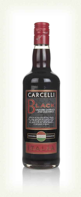 Carcelli Black Sambuca 70cl 35%