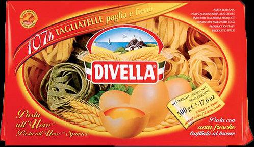 Divella Egg Tagliatelle Paglia e Fieno No 107b