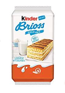 Kinder Brioss With Milk 10x 27g