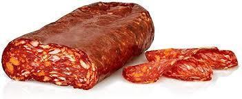 Sliced Spicy Salami 500g