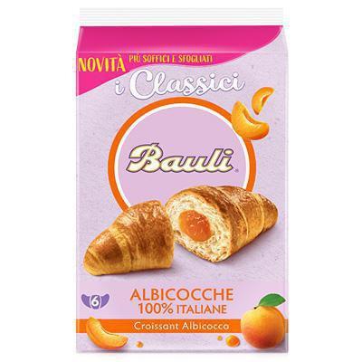 Bauli Apricot Croissants 6 x 50g