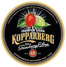 Kopparberg Strawberry & Lime 50L Keg
