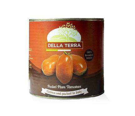 Della Terra Peeled Plum Tomatoes 2.5kg