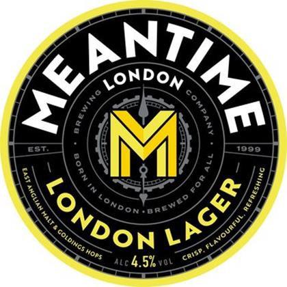Meantime London Lager 50L Keg