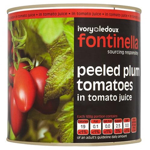 Fontanella Peeled Plum Tomatoes