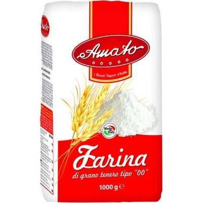"(OOD)Amato Soft Wheat""00"" Flour 1kg"