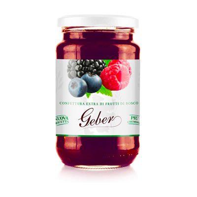 Geber Mixed Fruit Jam