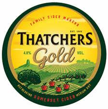 Thatcher's Gold Cider 50L Keg