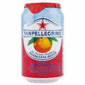San Pellegrino Blood Orange 330ml Can