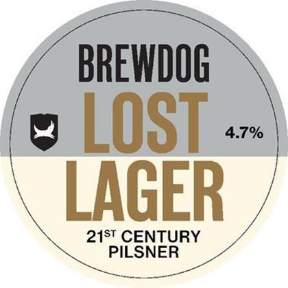 BrewDog Lost Lager 50L