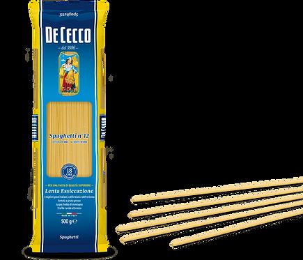 De Cecco Spaghetti No 12 1kg