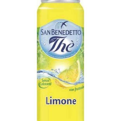 San Benedetto Lemon Tea 330ml