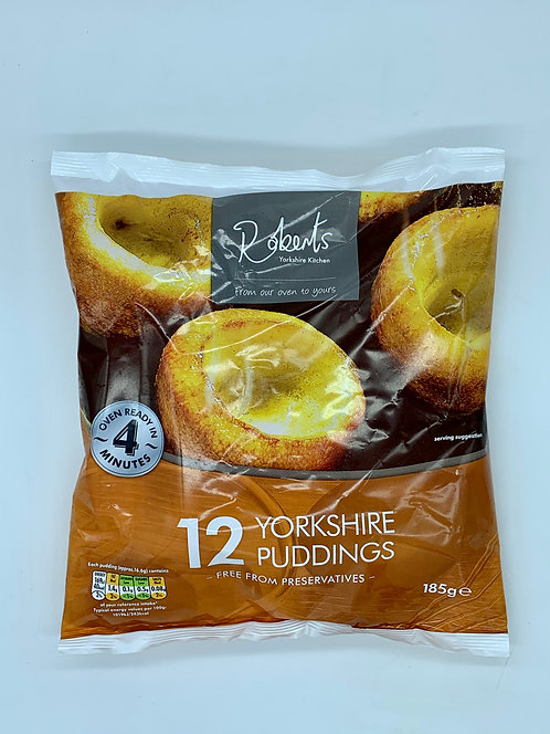 12 Yorkshire Puddings