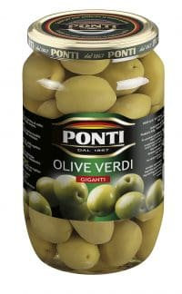 Ponti Giant Green Olives 1kg