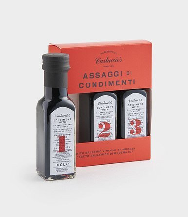Carluccio's Trio of Balsamic Vinegar of Modena