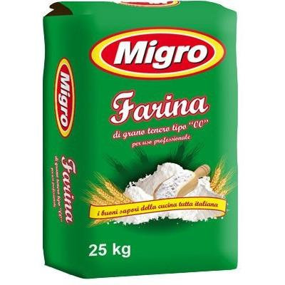 "Migro Soft Wheat ""00"" Flour 25kg**"