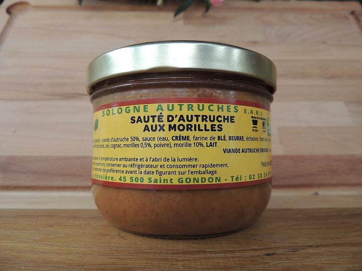 Sauté d'autruche aux morilles 400g