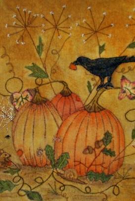 Crow's picken