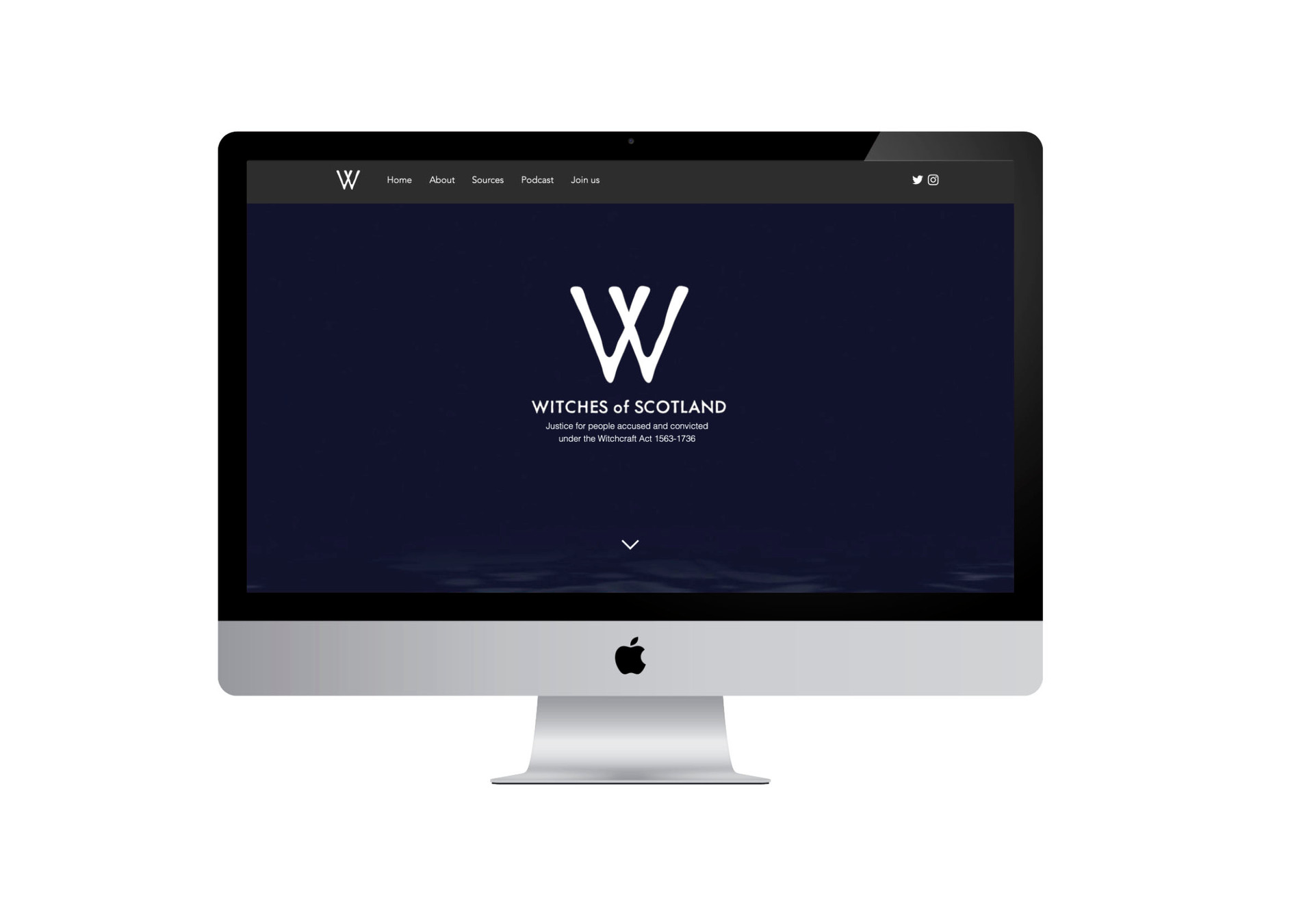 Witches of Scotland Website