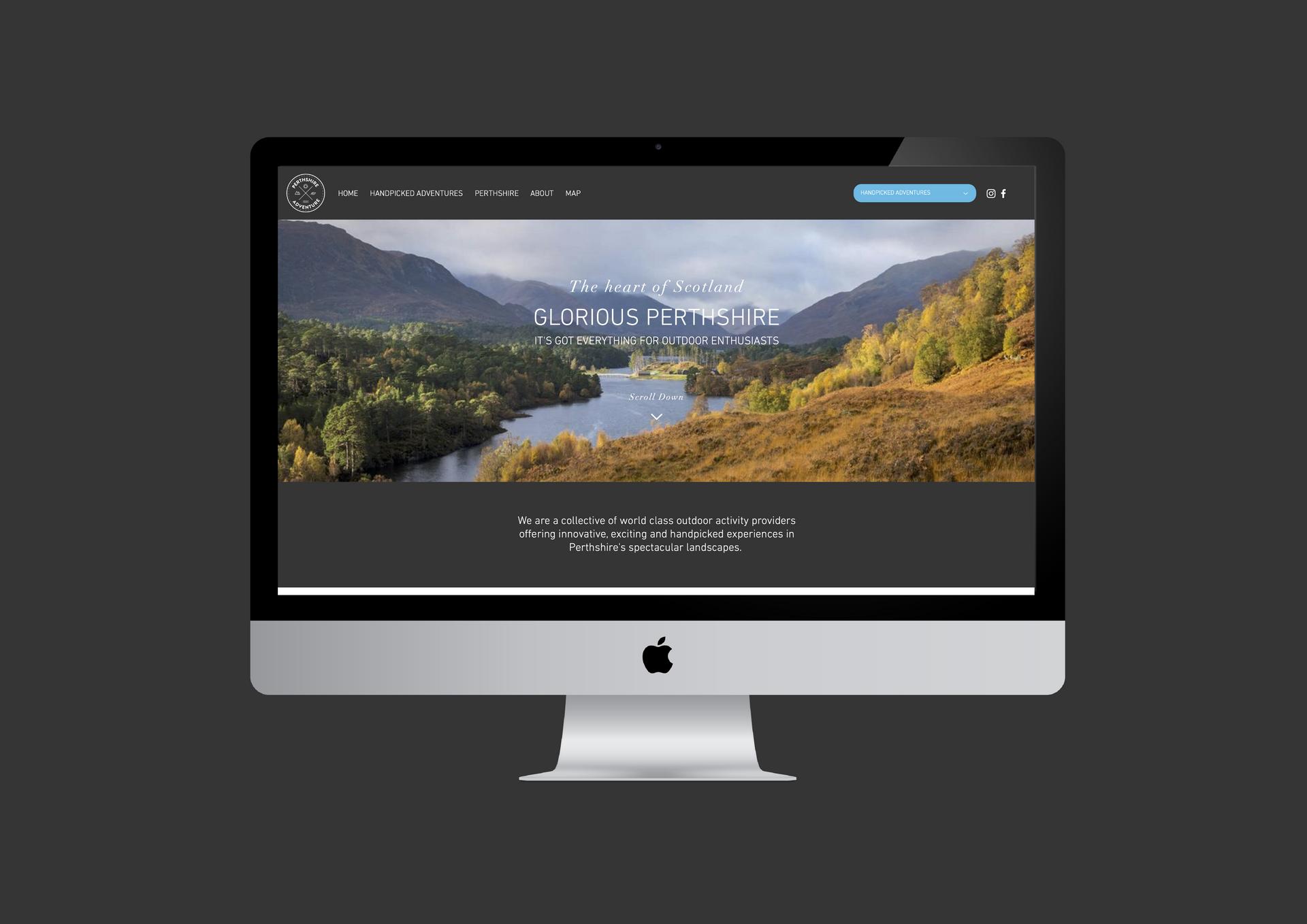 Perthshire Adventure Website