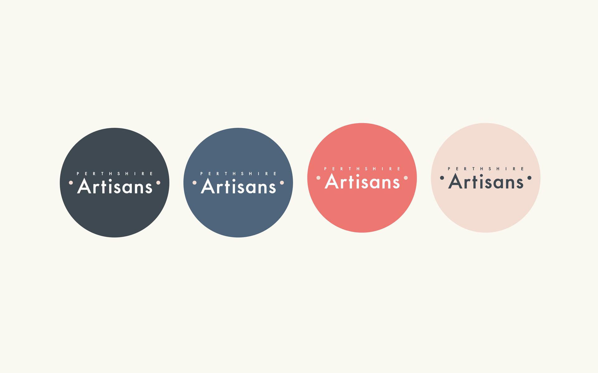 Perthshire Artisans Stickers