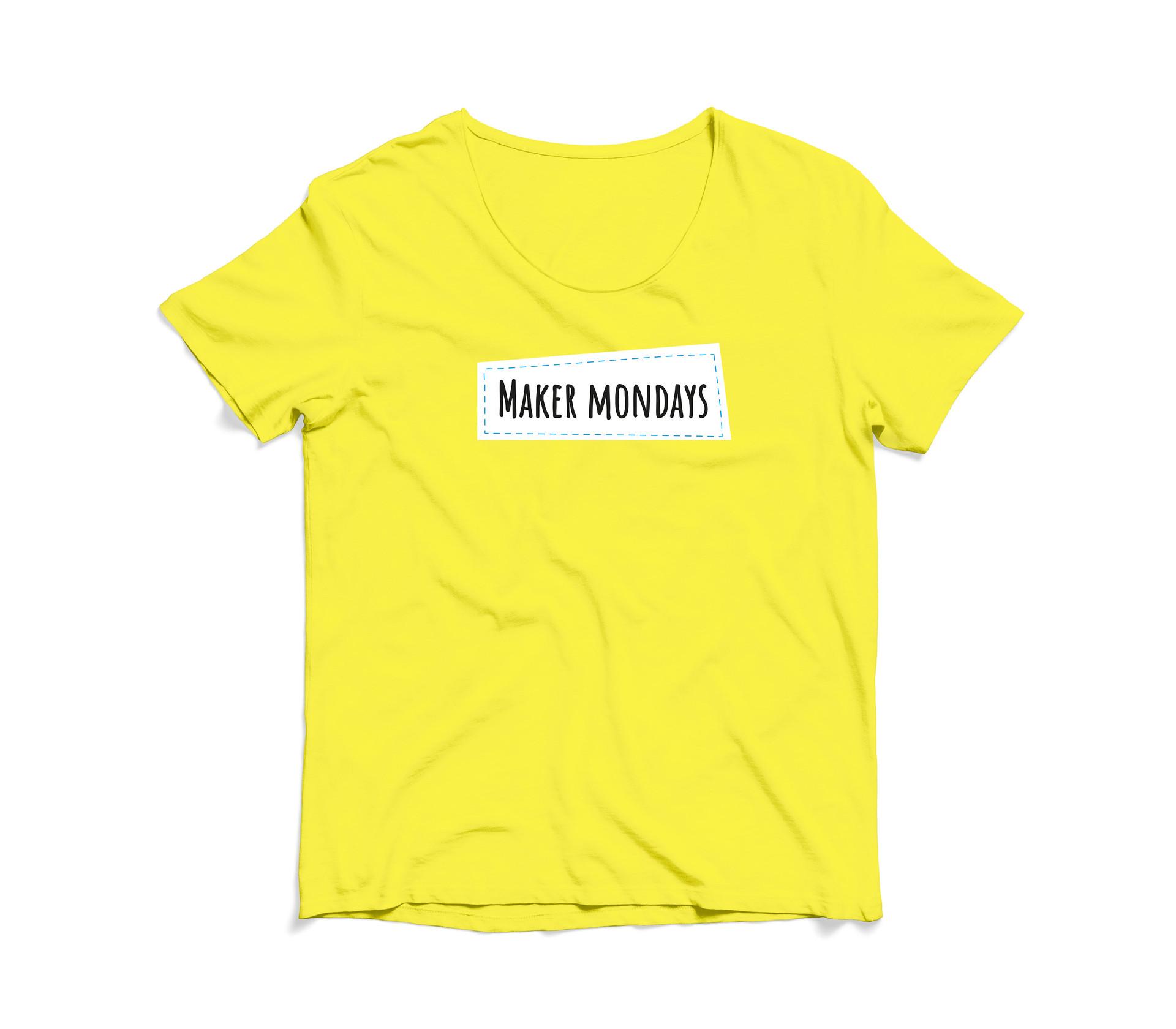 New Colours Made   Maker Mondays T-Shirt