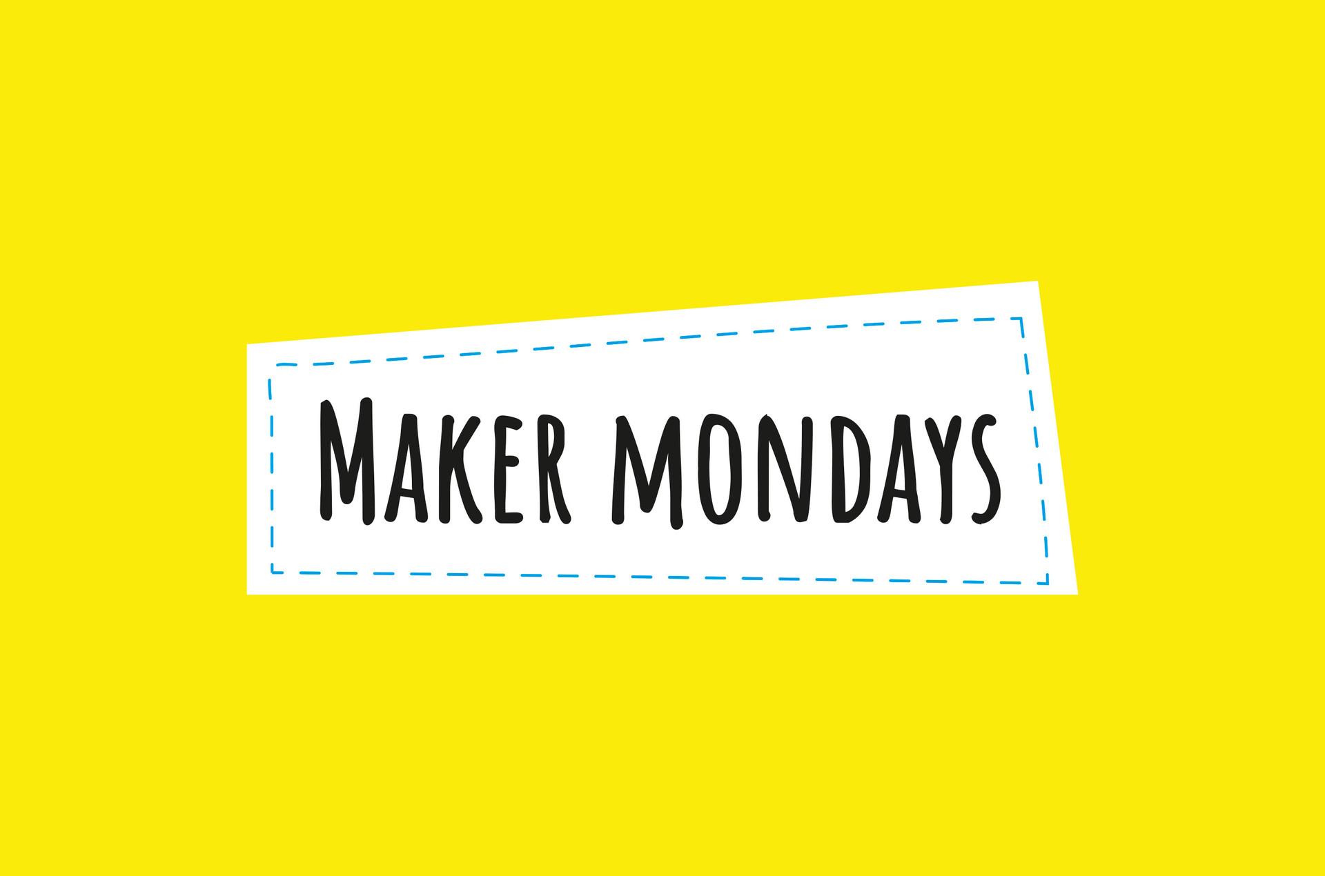 New Colours Made   Maker Mondays Logo