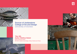 Amazing projects from DJCAD research