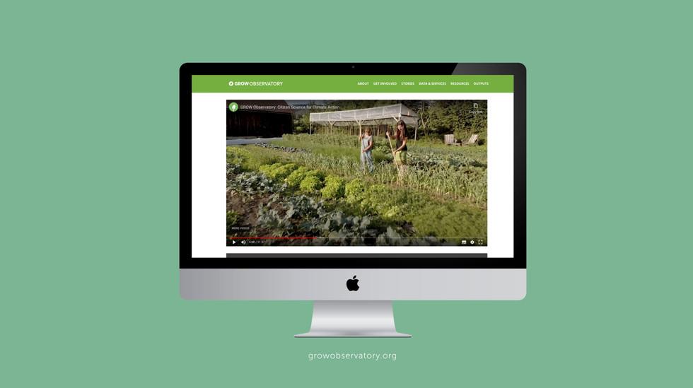 GROW Observatory website