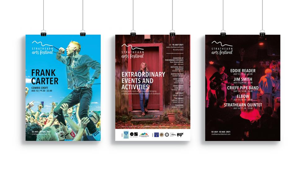 Strathearn Arts Festival Posters