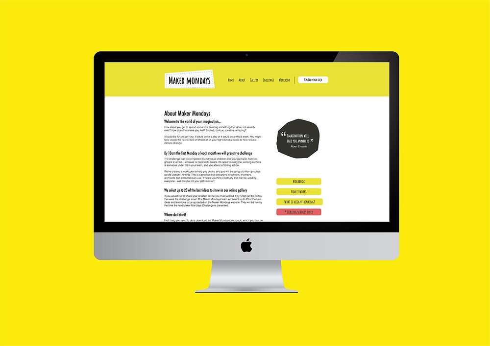 Maker Mondays Website