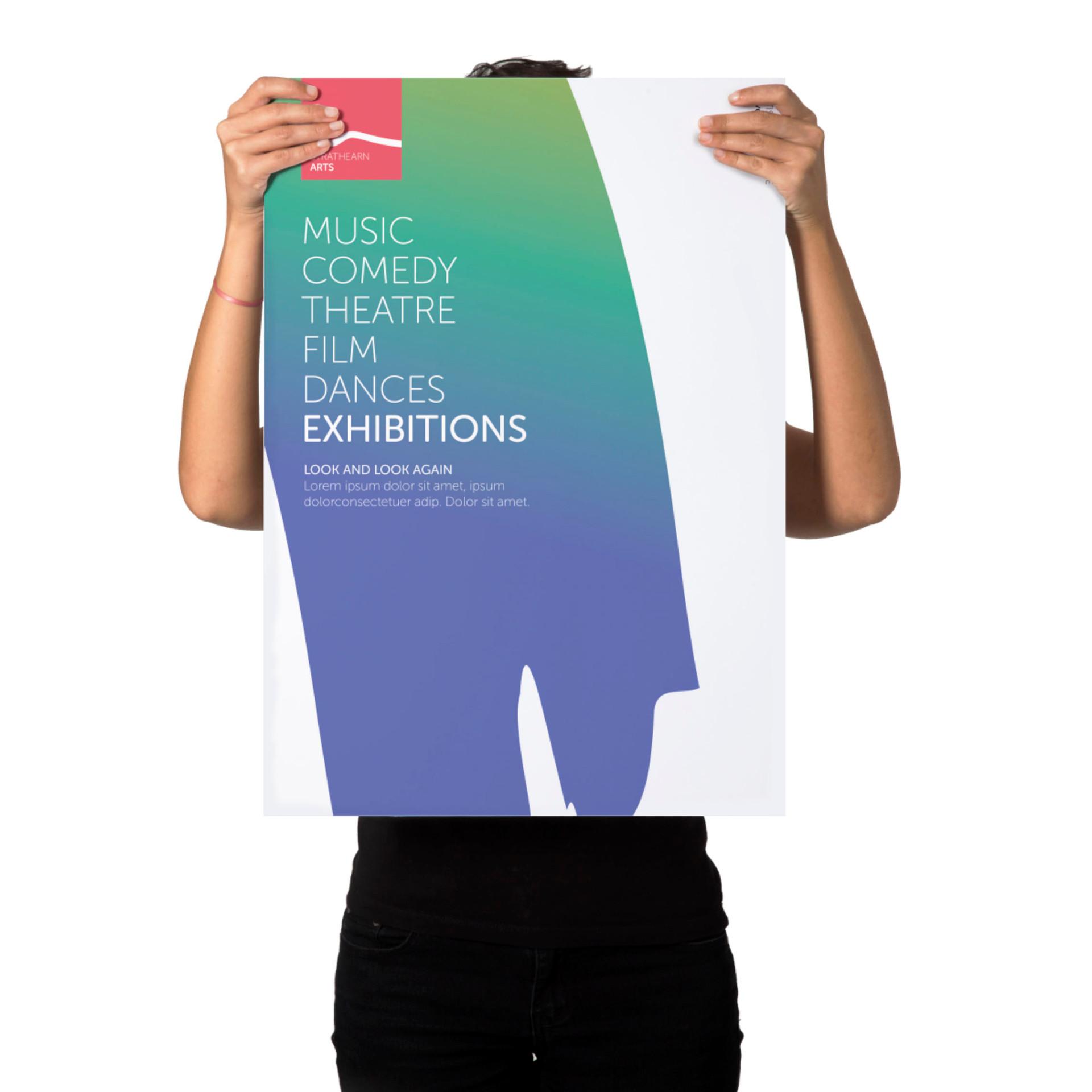 Stratheran Arts Poster