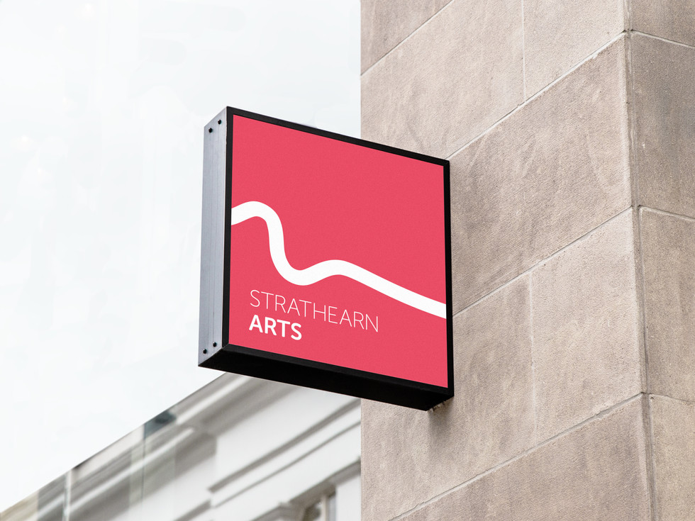 Strathearn Arts Sign