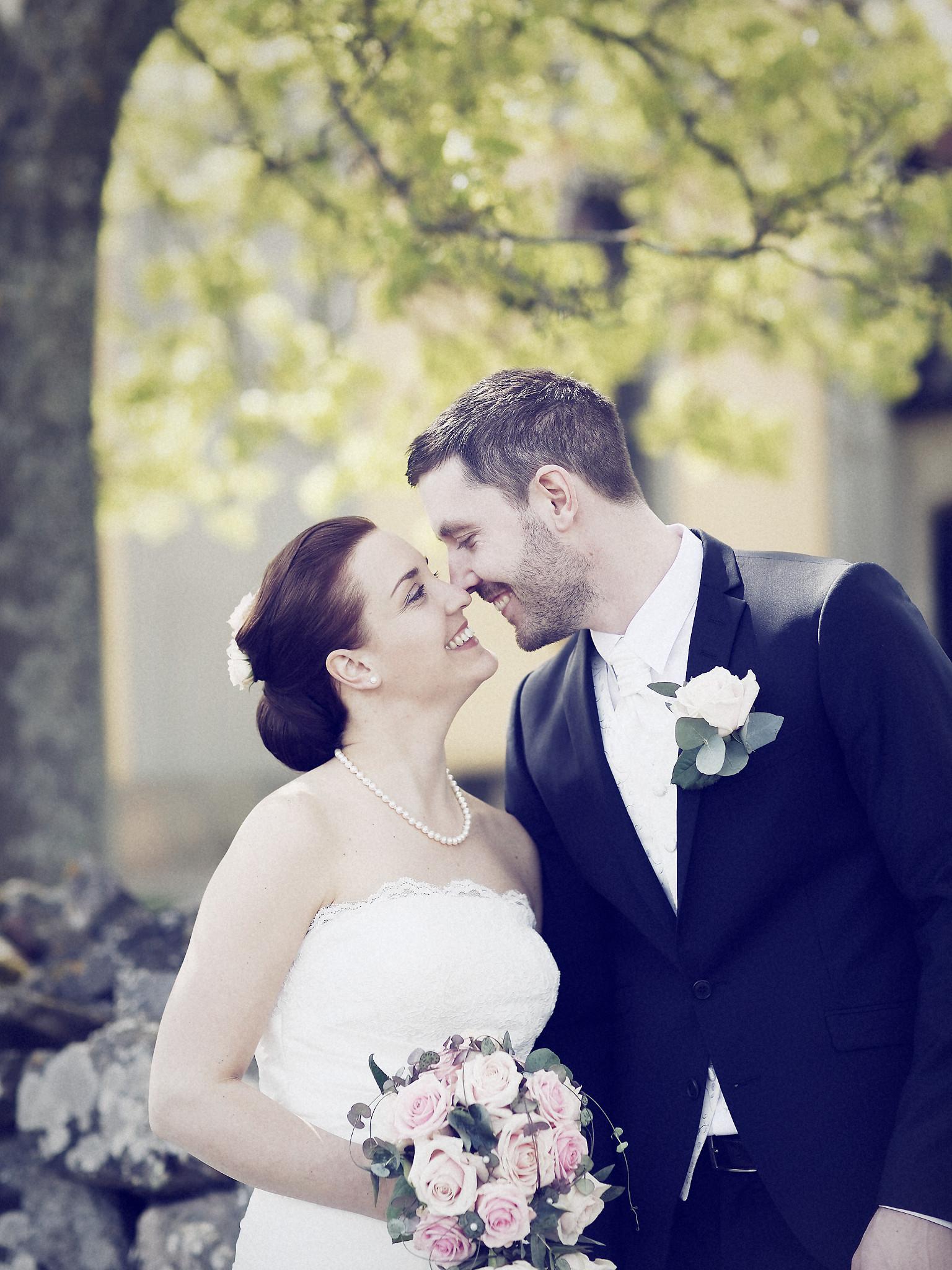 Bröllopsporträtt 1: Caroline/Tobias