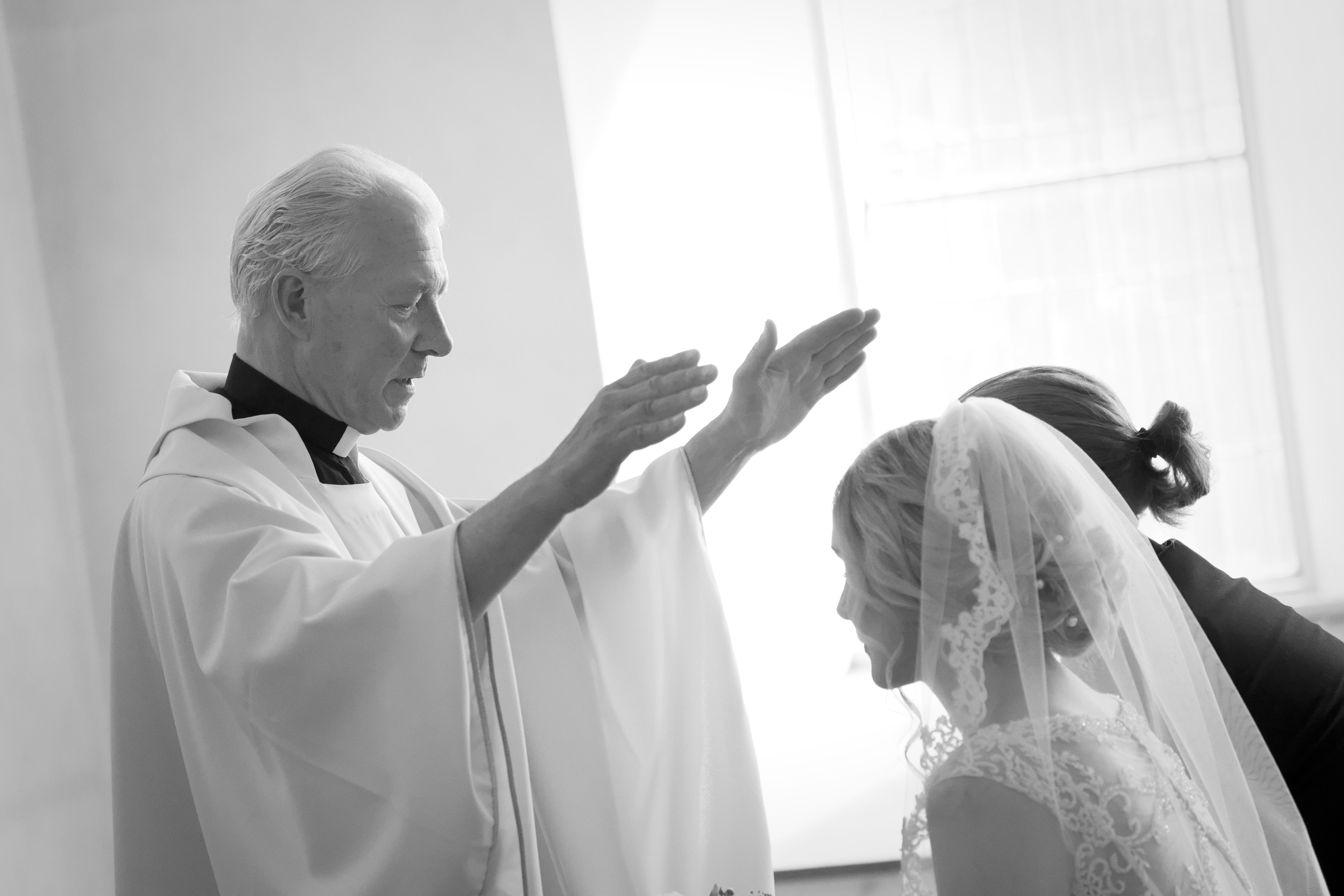 Bröllopsceremoni 4 - välsignelsen