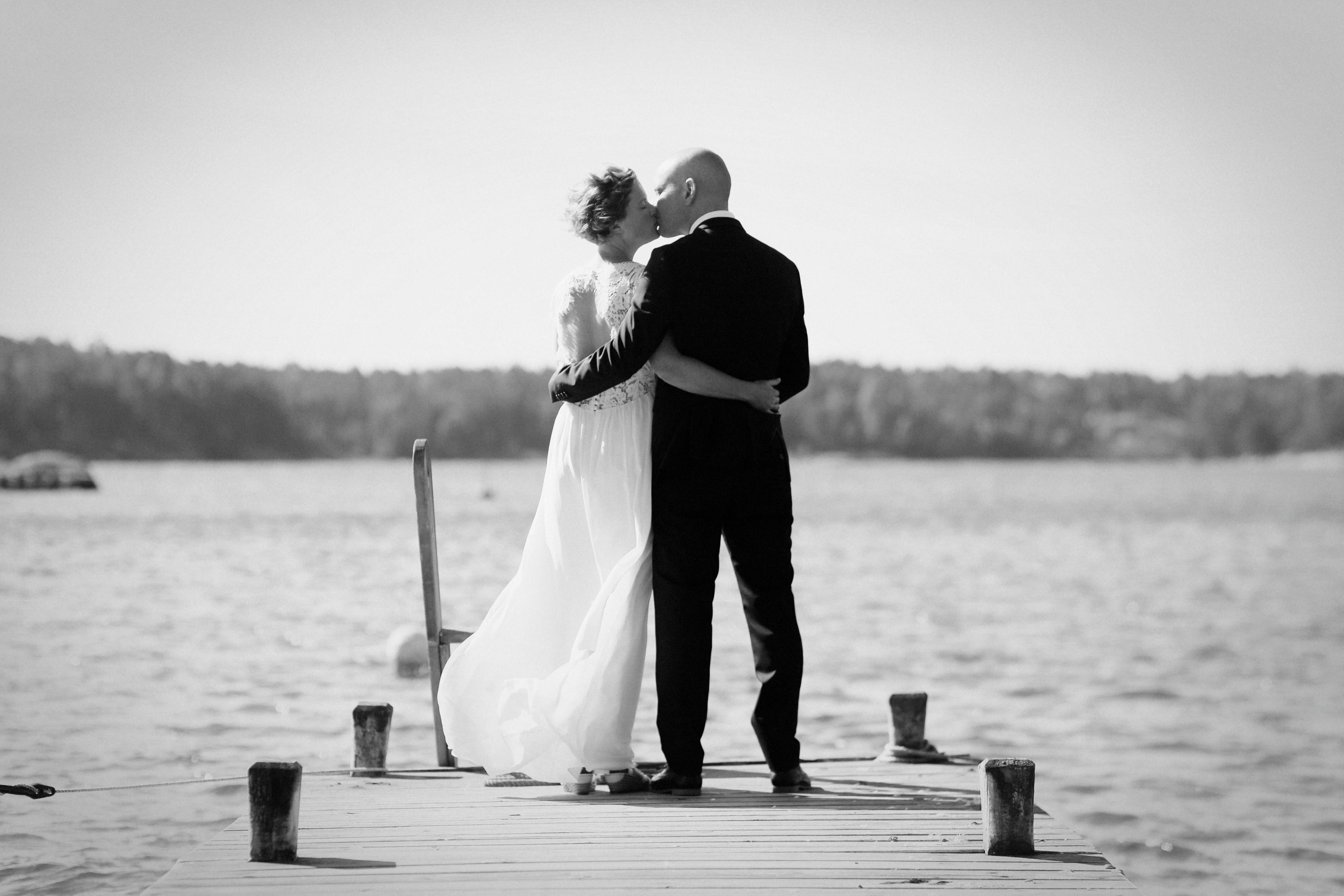 Bröllopsporträtt 2: Linda & Magnus