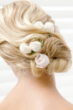 Bröllop - håruppsättning