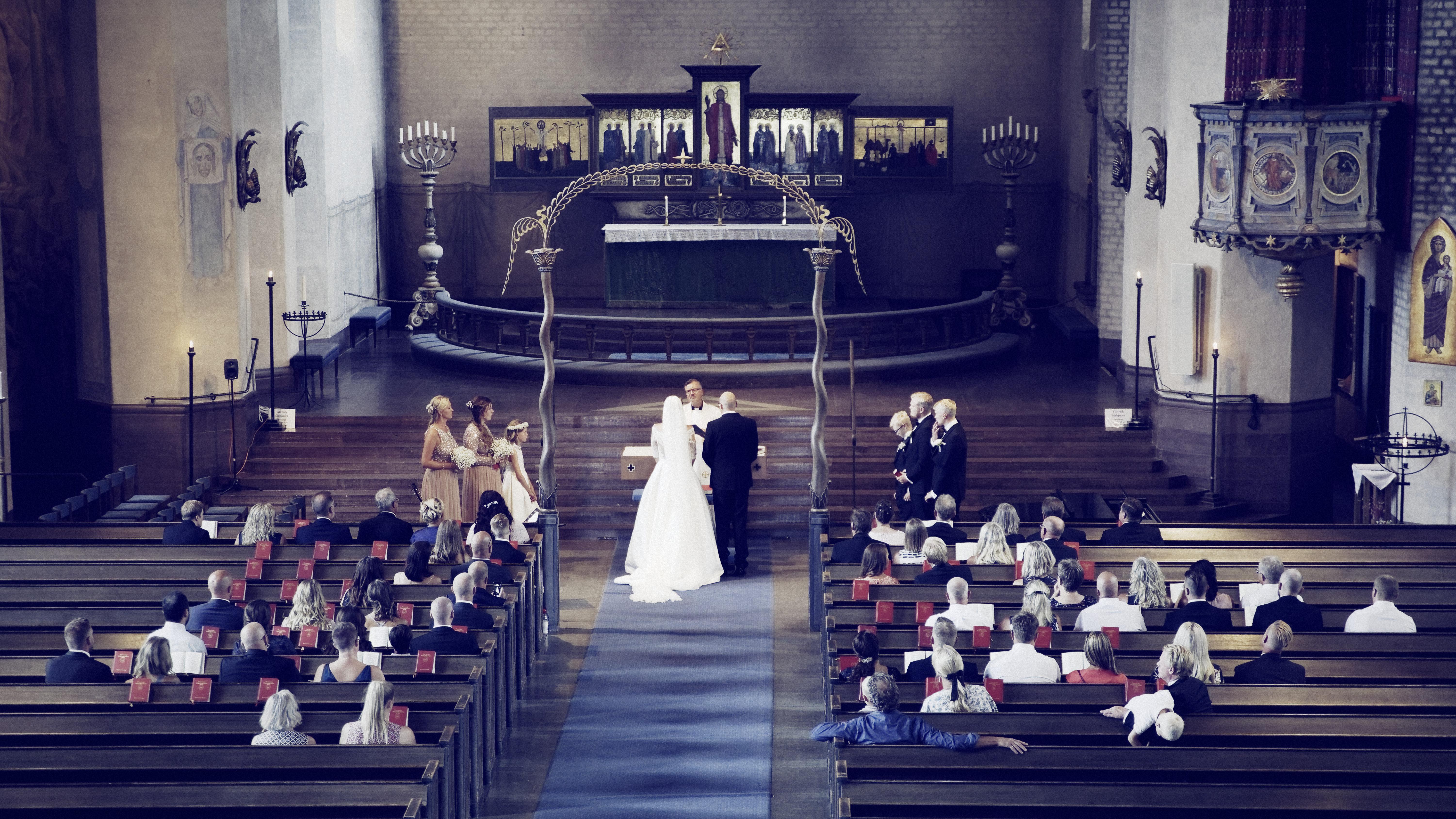 Jens och Elin - bröllopsceremoni