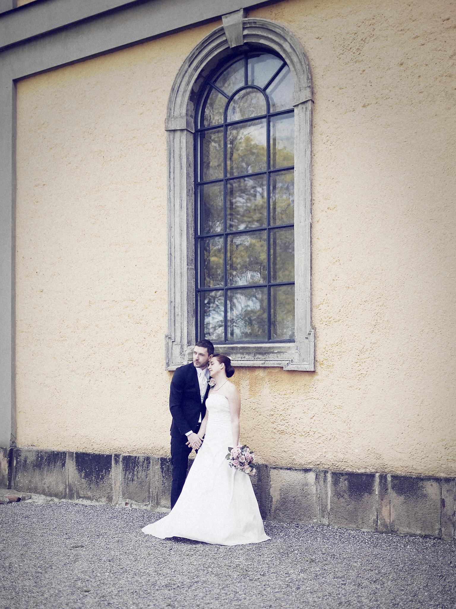Bröllopsporträtt 4: Caroline/Tobias