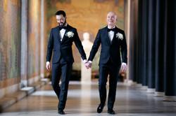 Bröllopsporträtt 3 - Javad och Peter