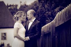 Katja och Erik, bröllopsporträtt 3/3