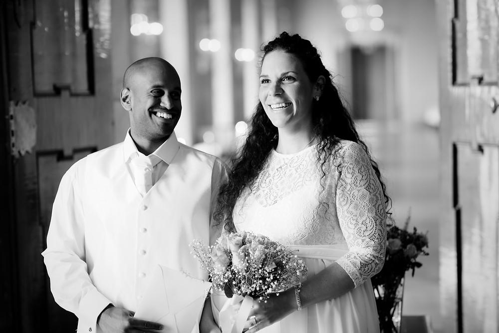 Gifta sen 45 sekunder. Vigsel i Stockholms stadshus, Brölllopsfotograf Jan Gleisner