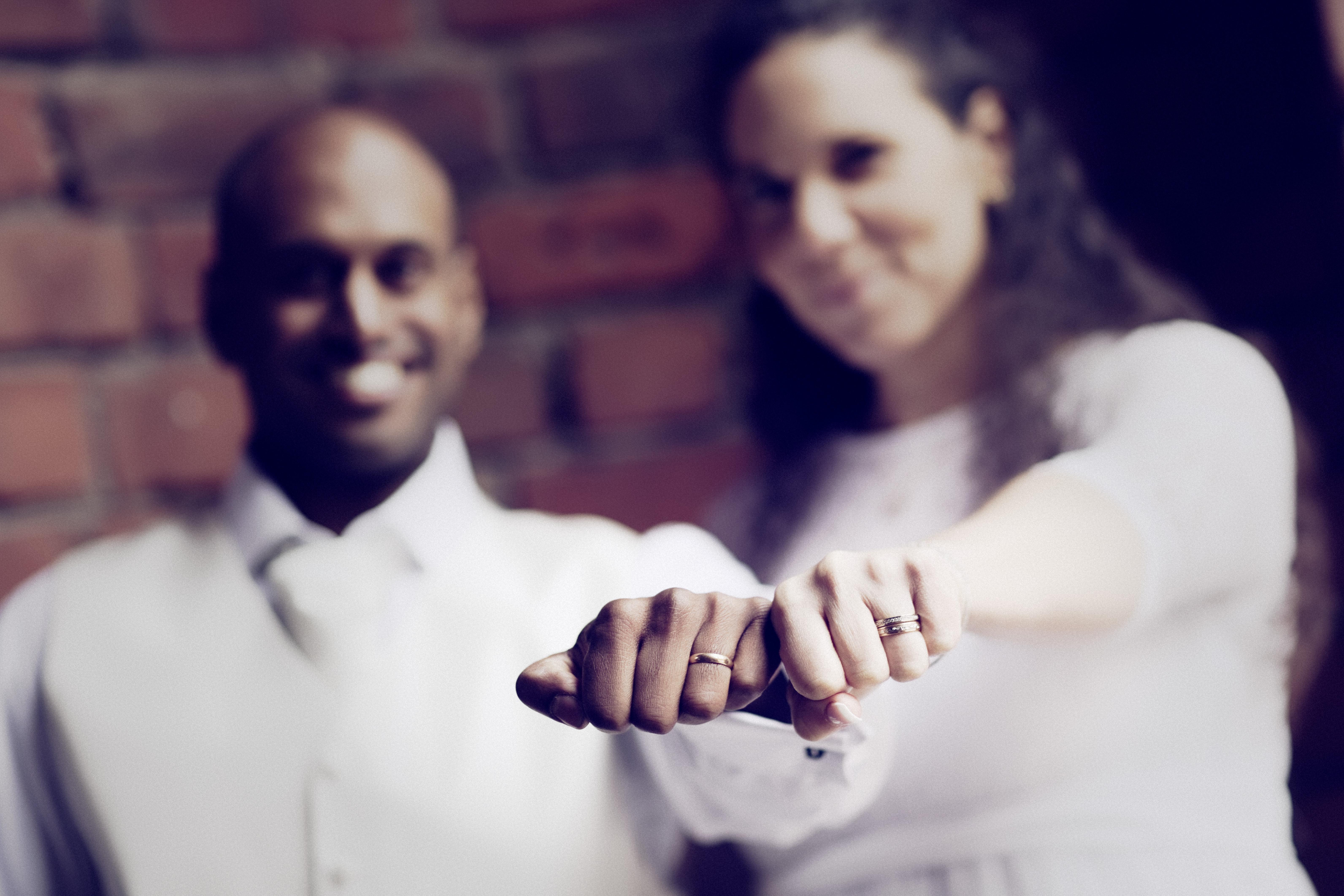 Bröllopsporträtt 6 - ringarna