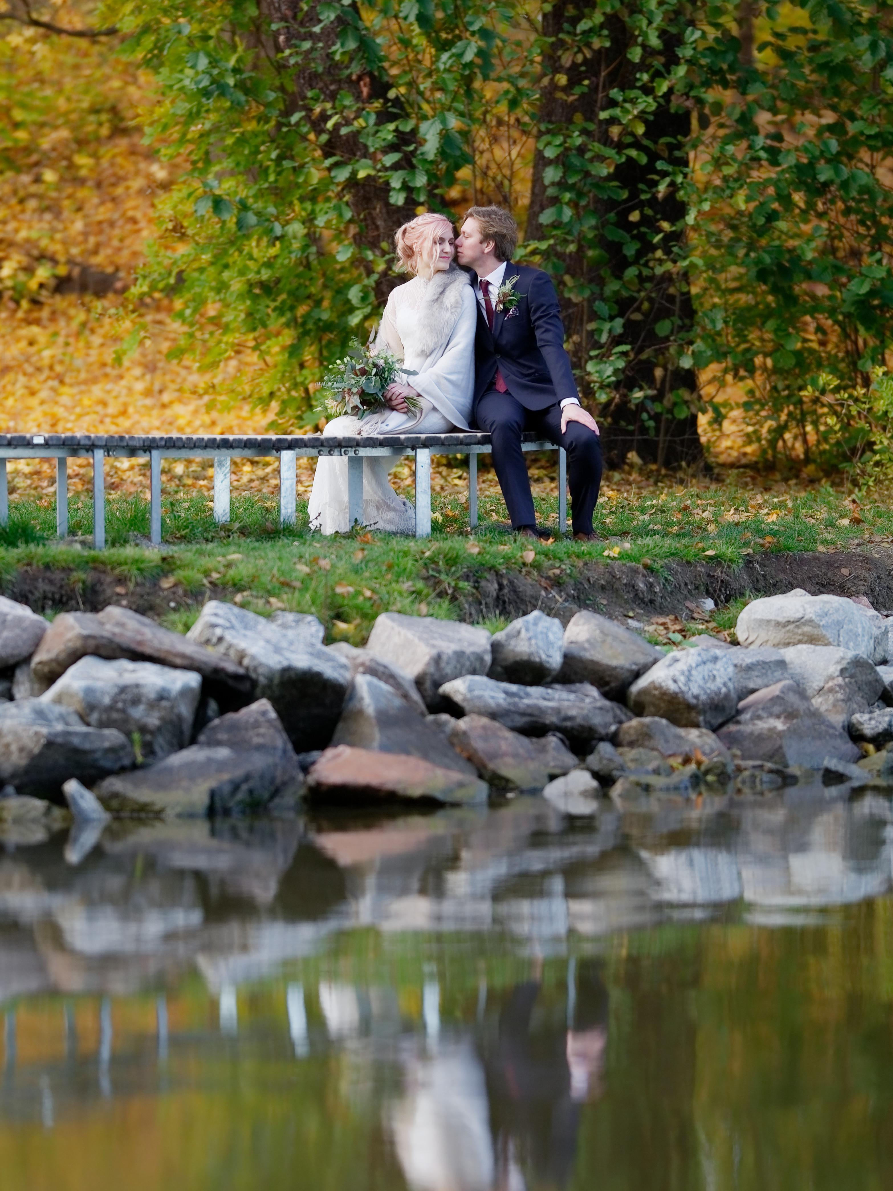 Bröllopsporträtt 3 - Ellen och Jakob