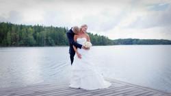 Bröllopsporträtt 7: J & B på brygga